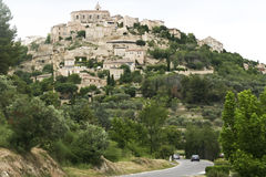 Free Cars On Road Below Mougins French Hill Town Stock Photography - 82158832