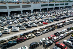 Cars parked Stock Images