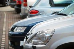cars parked στοκ εικόνες