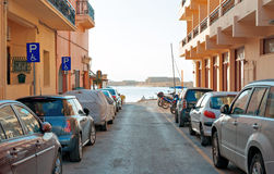 Cars parked. Stock Image