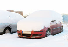 Cars parked. Royalty Free Stock Photography