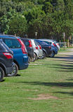 Cars parked Royalty Free Stock Photography