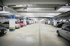 Cars on parking Royalty Free Stock Photos
