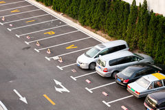 Cars parking Stock Photography