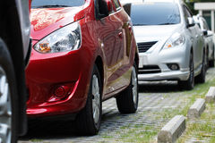 Cars on parking Royalty Free Stock Photography