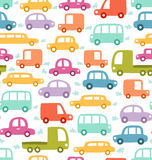 Cars pattern Royalty Free Stock Photography