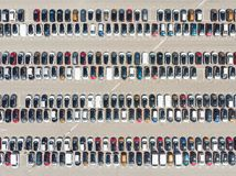 Cars Pattern Royalty Free Stock Images