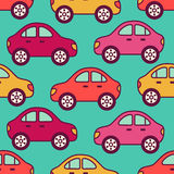 Cars pattern Stock Photo