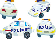 Cars of police Royalty Free Stock Photos