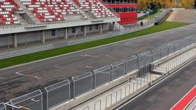 Cars on raceway stock video