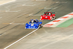 cars racing Στοκ φωτογραφίες με δικαίωμα ελεύθερης χρήσης