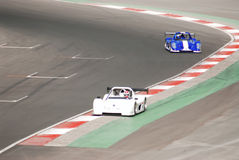 cars racing Στοκ εικόνα με δικαίωμα ελεύθερης χρήσης