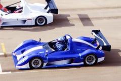 cars racing Στοκ Φωτογραφίες