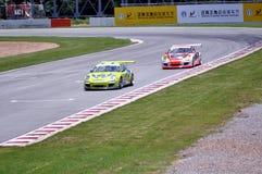 Cars racing Royalty Free Stock Photos