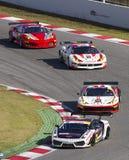 Cars racing Stock Photography
