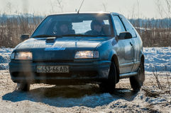 Cars rally Stock Image