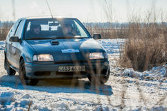 Cars rally Stock Photo