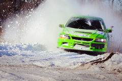 Cars rally Stock Photography