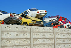 Cars removed from traffic Stock Photography