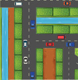 Cars on the road Royalty Free Stock Photography