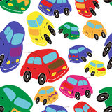 Cars seamless Royalty Free Stock Images