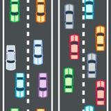 Cars seamless pattern Stock Image