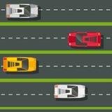 Cars seamless pattern Royalty Free Stock Image