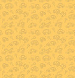 Cars. Seamless pattern. Royalty Free Stock Photo