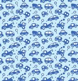 Cars. Seamless pattern. Stock Photos