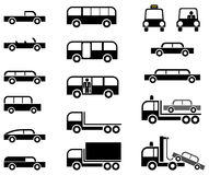 Cars - set of  icons Stock Photography