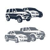 Cars set. Set of vectors  cars Stock Photo