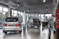 Cars shop Royalty Free Stock Images