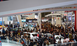 Cars in the show. Automotive Industry Expo in Shanghai.    Taken in Shanghai, April 26 2013 Stock Images