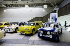 Cars show in Vilnius Stock Photos
