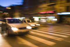 cars speed Στοκ Εικόνες
