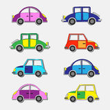 Cars stickers Stock Images