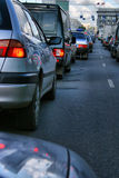 Cars stopper Stock Photo