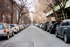 Cars on street Stock Image