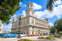 Magic old havana. Cars in th beautiful and magic old havana, Cuba Stock Images