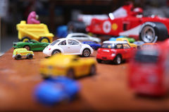 Cars toys Stock Images
