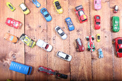 Cars toys Stock Photography