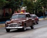Cars Of Varadero Cuba Stock Photography