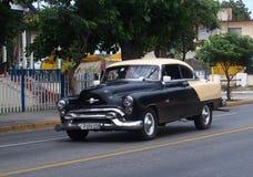 Cars Of Varadero Cuba Royalty Free Stock Photography