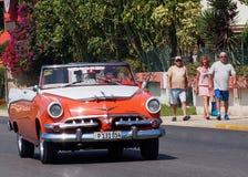 Cars Of Varadero Cuba Royalty Free Stock Photos