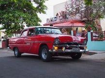 Cars Of Varadero Cuba Royalty Free Stock Photo