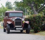 Cars Of Varadero Cuba Stock Photos