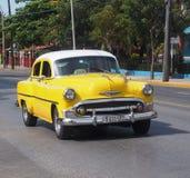 Cars Of Varadero Cuba Stock Images