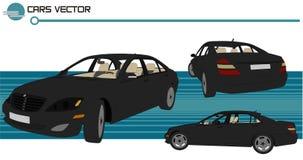 cars vector Στοκ φωτογραφία με δικαίωμα ελεύθερης χρήσης