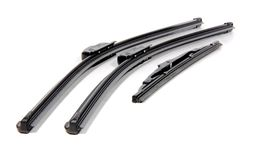 Cars windshield wipers Royalty Free Stock Photo