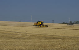 Cars work, a harvesting season Stock Photography
